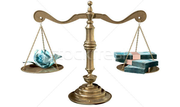 Inequality Scales Of Justice Income Gap Brazil Stock photo © albund