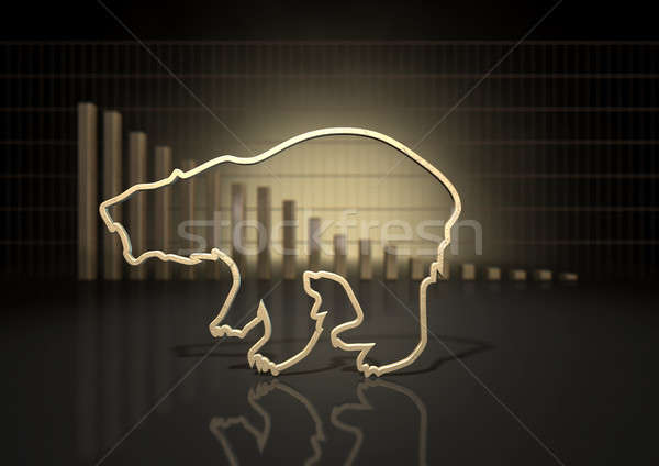 Bear Market Trend Stock photo © albund
