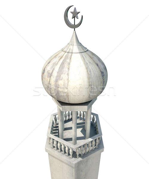 Islamic Minaret Stock photo © albund