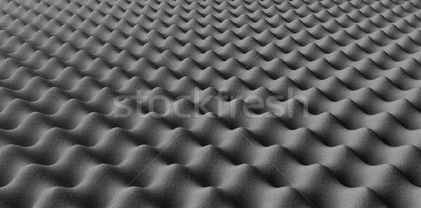 Sound Foam Staggered Pattern Stock photo © albund