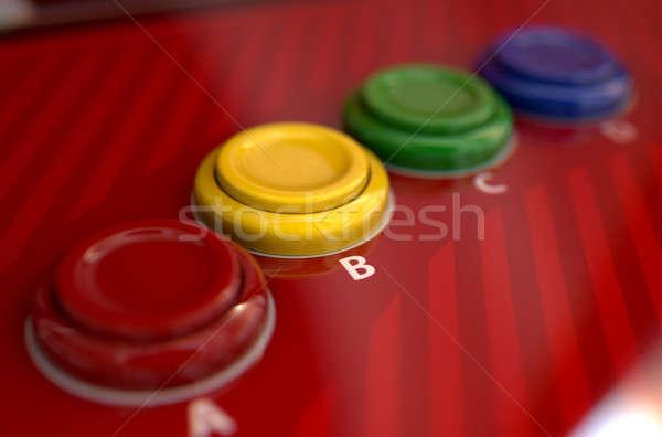 Arcade Control Panel  Stock photo © albund