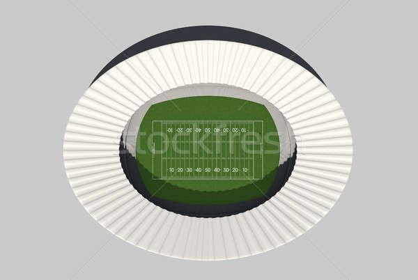 Football Stadium Day Stock photo © albund
