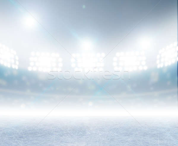 Ice Rink Stadium Stock photo © albund