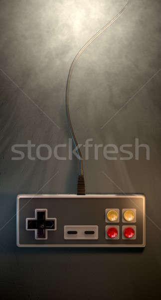 Vintage Gaming Controller Stock photo © albund