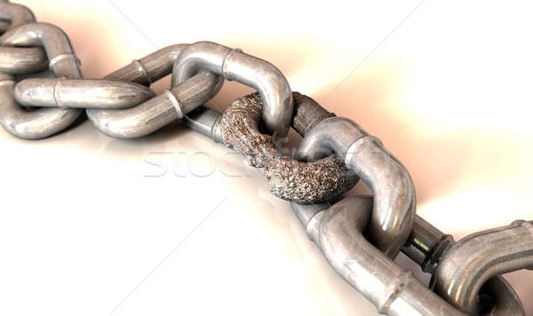 Weak Link Stock photo © albund