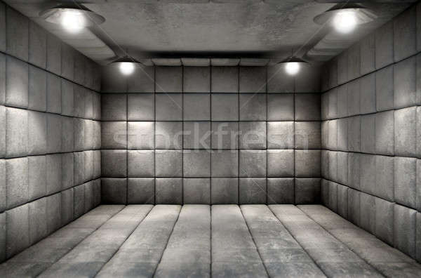 Padded Cell Dirty Stock photo © albund