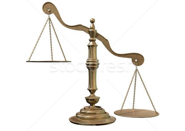 Inequality Scales Stock photo © albund