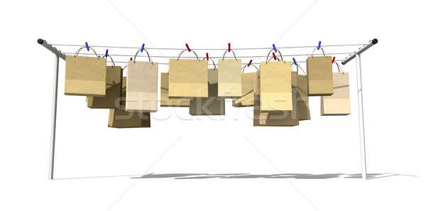 Online Shopping Front View Stock photo © albund
