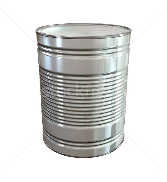 Tin Can Perspective Stock photo © albund