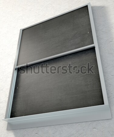 Chalk Board Render Stock photo © albund