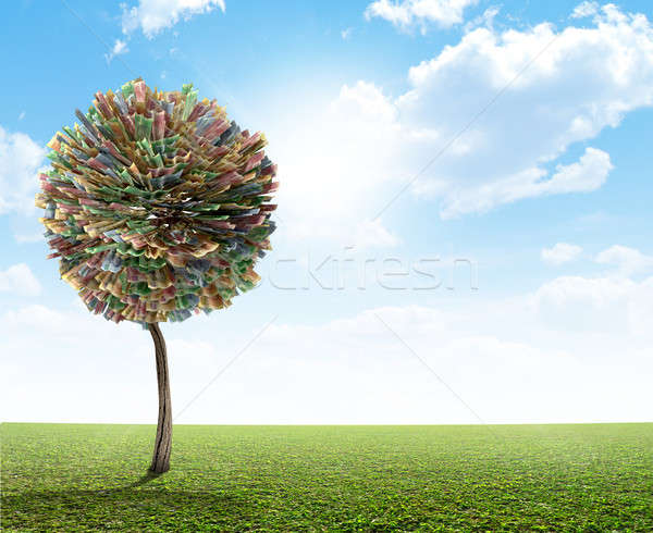 Money Tree South African Rand Stock photo © albund