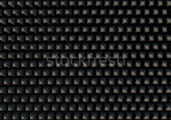 Sound Proof Foam Stock photo © albund