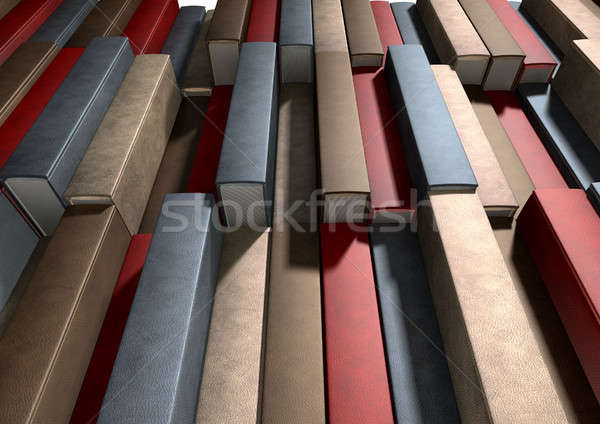 Stock photo: Generic Unbranded Leather Book Texture