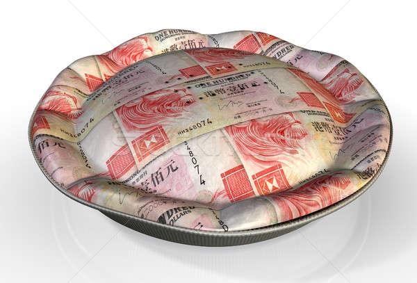 Money Pie Hong Kong Dollar Stock photo © albund