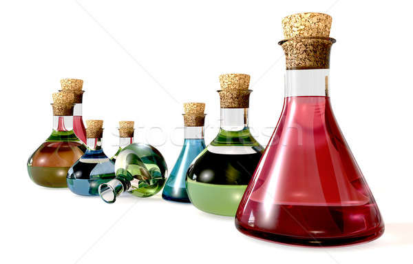 Potion Bottle Collection Stock photo © albund