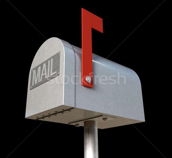 Oldschool Mailbox Stock photo © albund