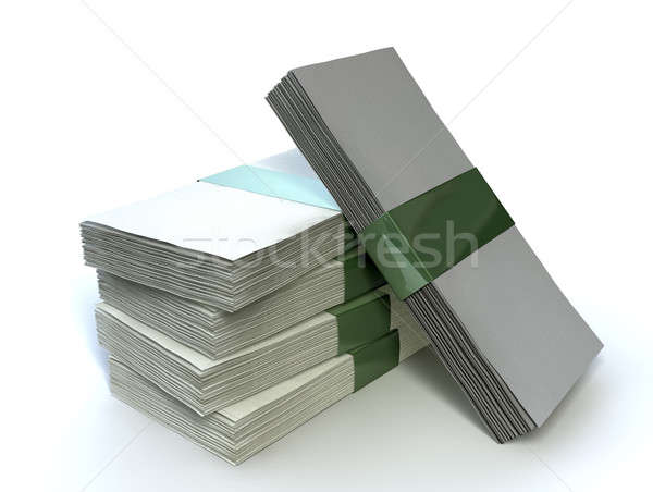 Stack Generic Bank Notes Stock photo © albund