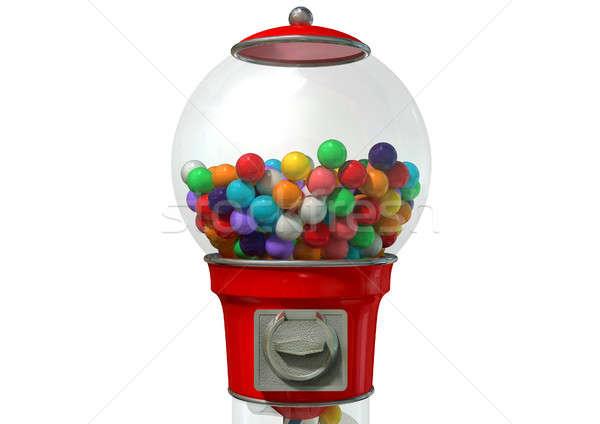 Gumball Dispensing Machine Stock photo © albund