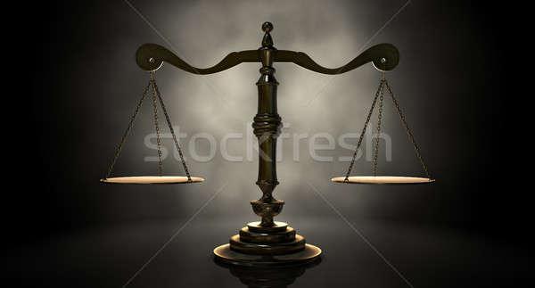 Scales Of Justice Stock photo © albund