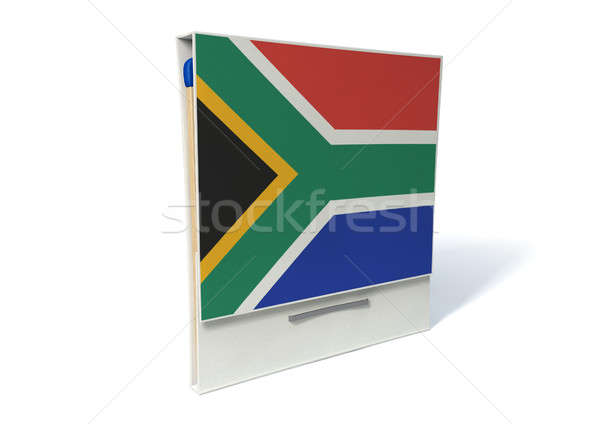 South African Book Of Matches Stock photo © albund