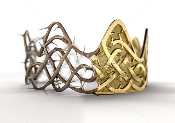 Crown Of Thorns Concept Stock photo © albund