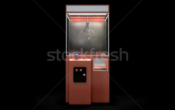 Claw Arcade Game Stock photo © albund