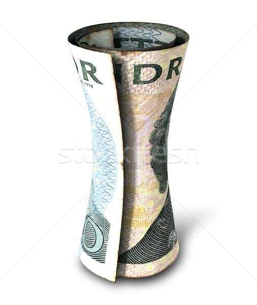 Rolled Money Note Stock photo © albund