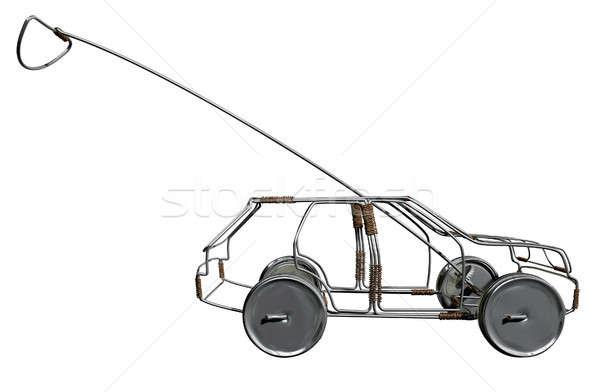 Wire Toy Car Side Stock photo © albund