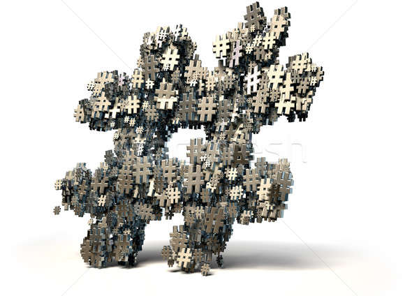Hashtag Concept Stock photo © albund