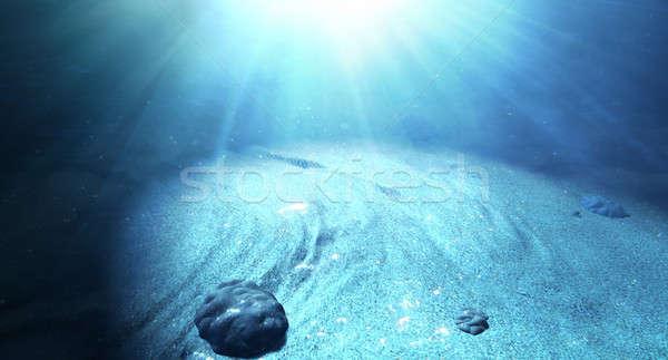 Underwater Sea Floor Stock photo © albund