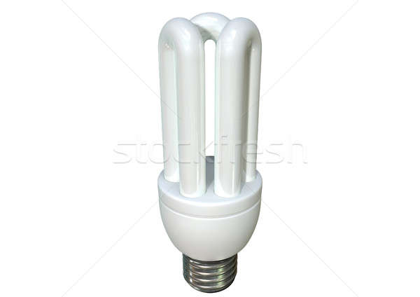 Fluorescent Light Bulb Stock photo © albund