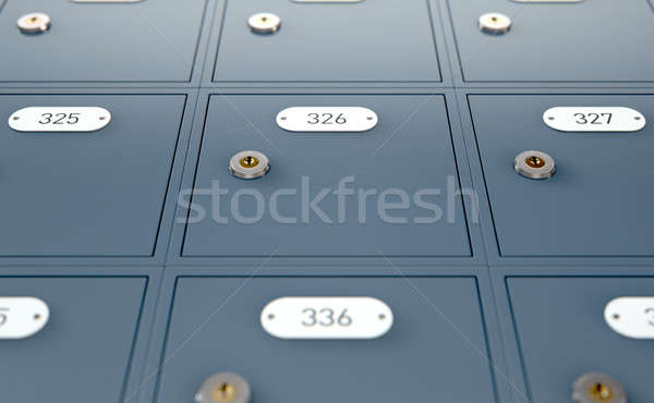 Post Office Boxes Stock photo © albund