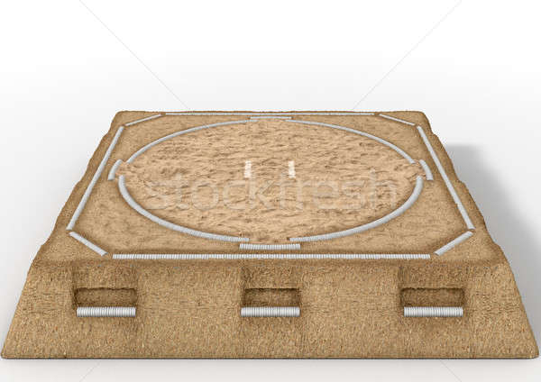 Sumo Wrestling Ring Stock photo © albund