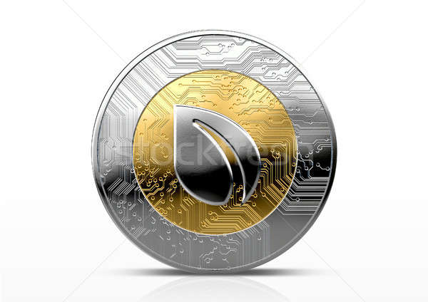 Stock photo: Cryptocurrency Physical Coin