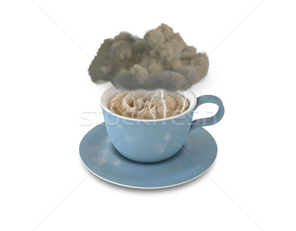 Storm In A Teacup Stock photo © albund