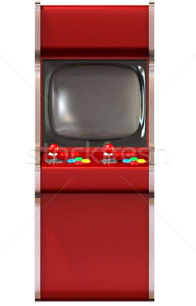 Arcade Game Machine Unbranded Stock photo © albund