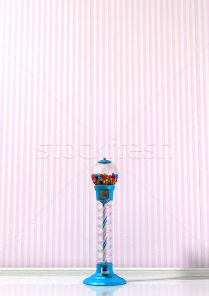 Gumball Machine In A Candy Store Stock photo © albund
