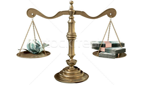 Inequality Scales Of Justice Income Gap Russia  Stock photo © albund