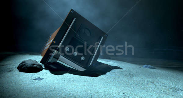 Flight Recorder Under The Sea Stock photo © albund