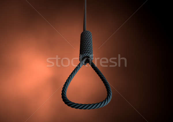 Hangmans Noose Rope Stock photo © albund