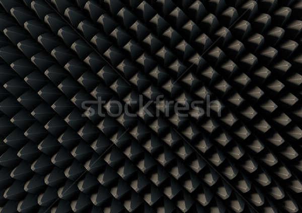 звук доказательство пена 3D Сток-фото © albund