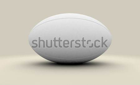 Rugby Ball Isolated Stock photo © albund