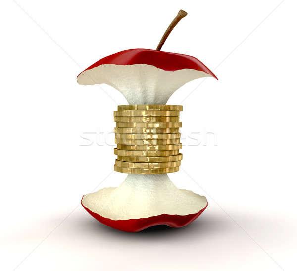 コア 価値観 リンゴ センター 孤立した ストックフォト © albund