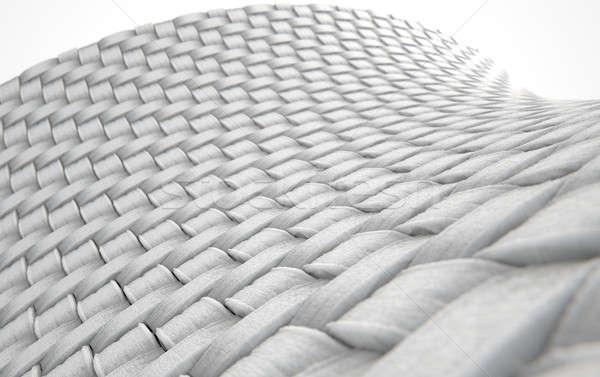 Micro tejido limpio 3d microscópico vista Foto stock © albund