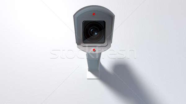 サーベイランス カメラ 白 ワイヤレス ライト ストックフォト © albund