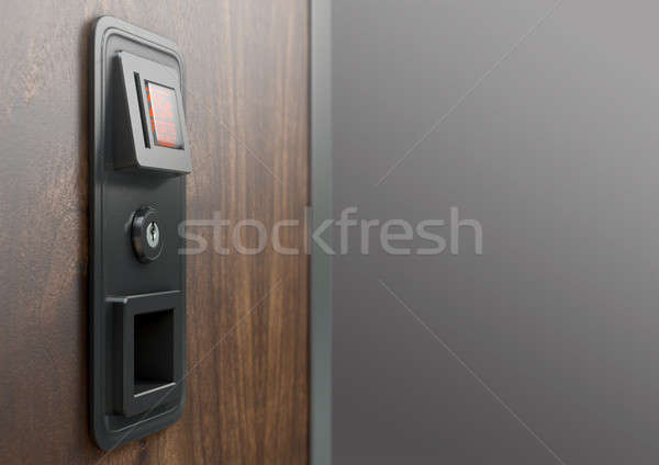 Vintage Plastic Coin Receptacle Stock photo © albund