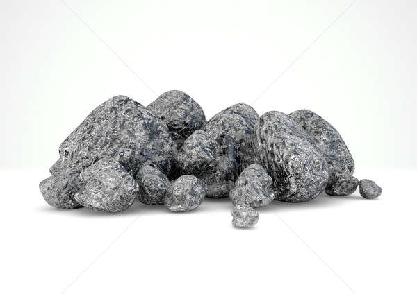 Iron Ore Nugget Collection Stock photo © albund