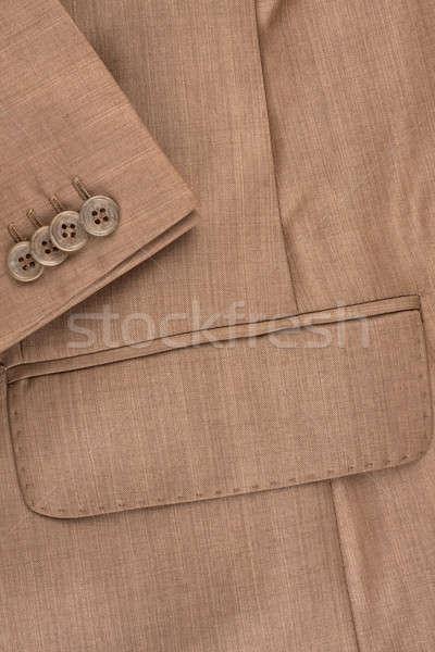 Kieszeni rękaw kurtka puszka używany Zdjęcia stock © alekleks