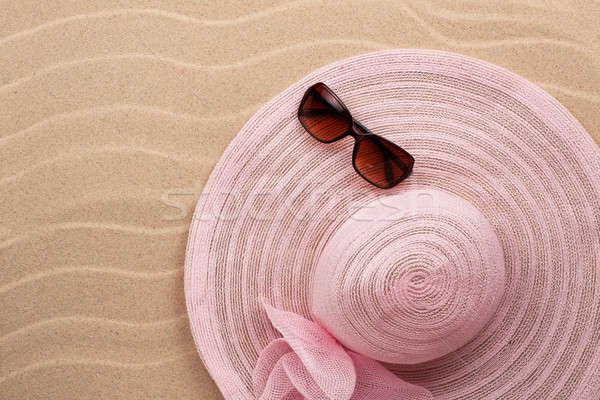 ビーチ 砂 場所 太陽 デザイン ストックフォト © alekleks