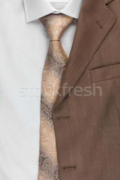 Stock fotó: Kabát · nyakkendő · póló · konzerv · használt · üzlet